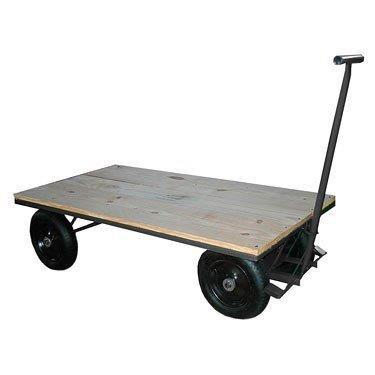 Carrinho de transporte de carga industrial